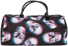 Iron Fist Extra Large Black Skull of Doom Duffle Hand/Shoulder Bag (Goth,Skull)