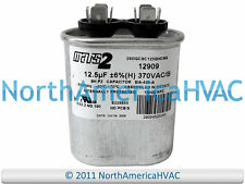 NIB Motor Run Capacitor 12.5 uf MFD 370 volt Fan Blower