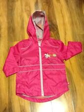 Barbie Girls Waterproof Jacket Aged 2/3 Years Old (98cm) New With Tag