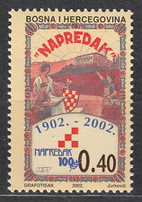 """Bosnien und Herzegowina (Mostar) Nr. 98** 100 Jahre """"Napredak"""""""