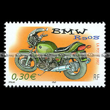 ★ BMW R90 S R90/S ★ FRANCE Timbre Poste Moto Collection Motorcycle Stamp #121