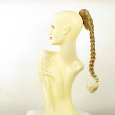 Hairpiece ponytail plait 19.69 long light blond blond copper wick clear 4/27t613