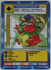 SHOGUNGEKOMON DIGIMON BO-08 1st EDITION CARD                  (INV10788)