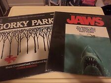 2 LPs JAWS AND GORKY PARK  EXCELLENT CONDITION!