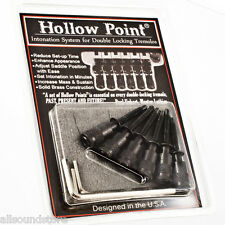 Hollow Point Intonation System for Floyd Rose Gotoh Edge Licensed Tremolo BLACK