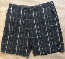 O'Neill Men's Plaid Shorts Size 40 In Great �� Condition!!����