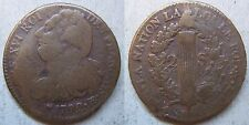 Revolution 2 sols / sous Louis XVI bronze 1792 BB Strasbourg - French royal coin