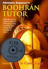Absolute Beginners Bodhran Tutor Learn to Play Irish Celtic Drum Music Book & CD