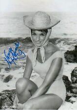 Nancy Kovack Autogramm signed 20x30 cm Bild s/w