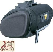 TOPEAK SIDEKICK WEDGE SMALL BLACK BICYCLE SEAT SADDLE BAG