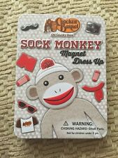 Cracker Barrel Sock Monkey Magnet Dress Up Game NIB
