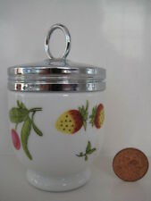 RARE VINTAGE ROYAL WORCESTER SINGLE SIZE EGG CODDLER COVENT GARDEN ........small