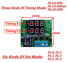 DC 12V Digital LED cycle timing delay Time Timer relay Module clock Controller
