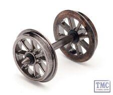 R8098 Hornby HO/OO Gauge Spoked Wheel/Axles (10 Sets)