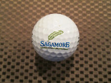 LOGO GOLF BALL-SAGAMORE GOLF CLUB.....DRIVING RANGE BALL....INDIANA