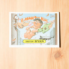Vintage Garbage Pail Kids 1986 UK Sticker Collector's Card Dryin' Ryan 242b