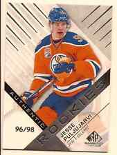 JESSE PULJUJARVI 2016-17 UPPER DECK SP GAME USED AUTHENTIC BASE ROOKIE /98