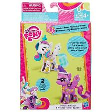 Princess Celestia & Twilight Sparkle diseño y estilo Pony Chicas 4+ Kit My Little