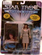 1995 Playmates Star Trek The Next Generation Beverly Crusher in 1940's Attire
