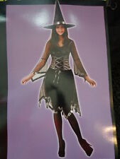 NWT NIP Womens Totally Ghoul Dazzling Witch Halloween Costume One Size Fits Most