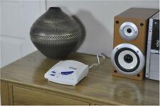 WHITE AC Rete Elettrica 3 canali wireless vivavoce Intercom System-VENDUTI IN COPPIA