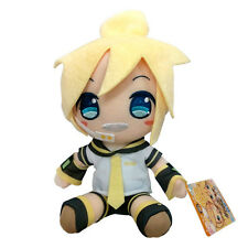 "7"" Male Kagamine Len Stuffed Plush - Taito Vocaloid Hatsune Miku Series Doll"