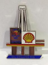 SYDNEY OLYMPIC GAMES 2000 SHELL OIL DRILLING RIG PIN BADGE #552