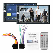 "Multifunction7"" HD Touch Screen Double 2DIN Car Stereo MP5 Player Bluetooth Radi"