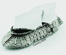 Star Wars Micro Machines Jabba The Hut Sail Barge Tatooine ROTJ Silver Pewter G