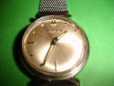 PRETTY LUGS BULOVA ACCUTRON 214 MEN'S STAINLESS STEEL WATCH M7 CASE, MESH S BAND