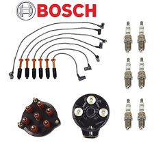 NEW Mercedes-Benz W124 300CE 1990-1992 Tune Up KIT Plugs Wires Cap Rotor BOSCH