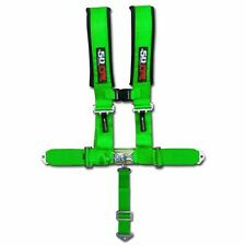 "Green Racing 5 Point 3"" Race Harness Lifted Monster Mud Truck Car Pro Street"
