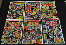 Logan's Run #2-7 - First Thanos solo story! - 1972 (Grade 4.5-5.5) WH