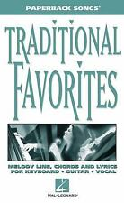 Traditional Favorites: Paperback Songs Series