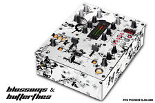 Skin Decal Wrap for PIONEER DJM-400 DJ Mixer CD Pro Audio DJM400 Parts BUTTERFLY