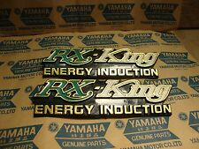 YAMAHA RX King RX-King RXKing Side Cover Emblem NOS old product