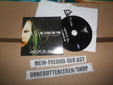 CD Metal Exilia - No Tears For You (3 Song) Promo MYPLACE + Presskit
