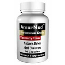 NATURE'S DETOX ORAL CHELATION 1000MG EDTA NAC MSM DIETARY SUPPLEMENT 120 CAPSULE