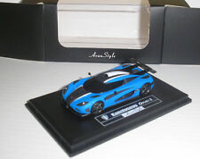 Koenigsegg Agera One-1 matt blau metallic in 1:87 von Fronti Art H0-01