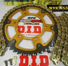 Triumph 675 Daytona Supersprox DID 520 Gold X-Ring Chain and Sprockets Kit