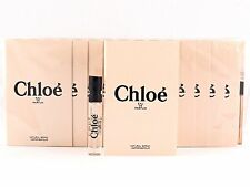 CHLOE EAU DE PARFUM EDP 1.2ml .04fl oz x 12 PERFUME SPRAY SAMPLE VIALS SEALED