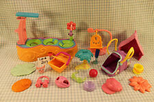 Accessory Lot -House Lily Pad Swing Carrier Hat Glasses Basket Littlest Pet Shop