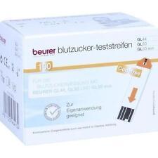 BEURER GL44/GL50 Blutzucker-Teststreifen 100 St PZN 9929677