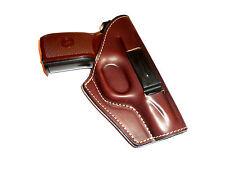 Belt gun holster COLT 1911, Makarov, Walther PPK 100% genuine leather  153-4