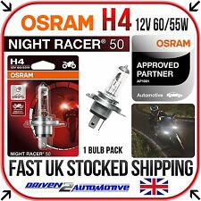 1x OSRAM H4 NIGHT RACER 50 BULB FOR Triumph Street Triple