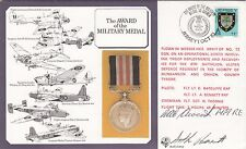 DM6d The Award of the Military Medal Signed R A C Awcock MM Corps of Royal Engin