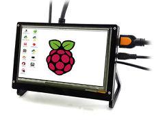 HD 7'' LCD Touch Screen for Raspberry Pi 3 Model B / 2B / B, HDMI interface