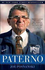 Paterno by Joe Posnanski (2013, Paperback)
