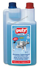 Puly Caff Milk Frother Liquid Cleaner & Descaler 1Litre Cleaning Coffee Catering