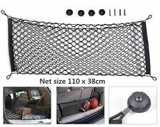 UK Universal Car Trunk Storage Cargo Luggage Nylon Elastic Mesh Net 110x38cm